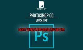 Kante verbessern nutzen - Photoshop CC