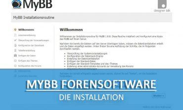 MyBB installieren